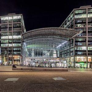 Busreisestart am Hauptbahnhof Berlin